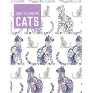 Zen Coloring Cats by Guild of Master Craftsman Publications Ltd, 9781784942809