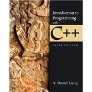 Introduction to Programming with C++ by Liang, Y. Daniel, 9780133252811