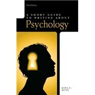 Short Guide to Writing About Psychology by Dunn, Dana S., 9780205752812