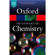 A Dictionary of Chemistry by Rennie, Richard; Law, Jonathan, 9780198722823