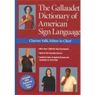 The Gallaudet Dictionary of American Sign Language (Book with DVD-ROM) by Valli, Clayton, 9781563682827