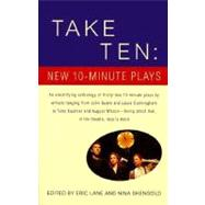Take Ten: New 10-Minute Plays by LANE, ERICSHENGOLD, NINA, 9780679772828