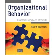 Organizational Behavior: Human Behavior at Work by Newstrom, John, 9780078112829