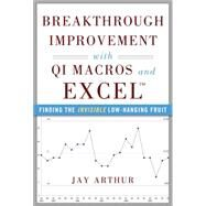 Breakthrough Improvement with QI Macros and Excel: Finding the Invisible Low-Hanging Fruit by Arthur, Jay, 9780071822831