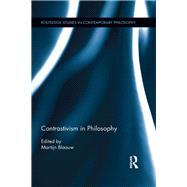 Contrastivism in Philosophy by Blaauw; Martijn, 9781138922839