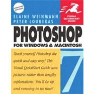 Photoshop 7 for Windows and Macintosh: Visual QuickStart Guide by Weinmann, Elaine; Lourekas, Peter, 9780201882841