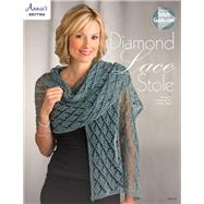 Diamond Lace Stole by Annie's, 9781590122846