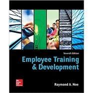 Employee Training and Development by Noe, Raymond, 9780078112850