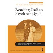 Reading Italian Psychoanalysis by Borgogno; Franco, 9781138932852
