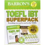 Barron's TOEFL IBT Superpack: Everything You Need to Excel on the Toefl by Sharpe, Pamela J., Ph.D.; Matthiesen, Steven J., 9781438072852