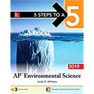 5 Steps to a 5: AP Environmental Science 2019 by Williams, Linda, 9781260122855