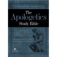 Apologetics Study Bible, Hardcover by Holman Bible Staff, 9781433602856