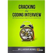 Cracking the Coding Interview by Gayle Laakmann McDowell, 9780984782857