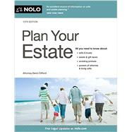 Plan Your Estate by Clifford, Denis, 9781413322859
