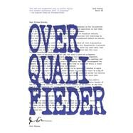 Overqualifieder by Comeau, Joey, 9781770412859