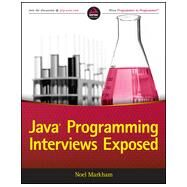Java Programming Interviews Exposed by Markham, Noel, 9781118722862