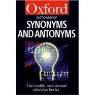 Dictionary of Synonyms and Antonyms by Spooner, Alan, 9780198602866