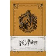Harry Potter - Hufflepuff Ruled Notebook by Insight Editions, 9781683832867