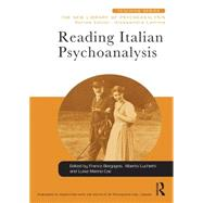 Reading Italian Psychoanalysis 9781138932869N