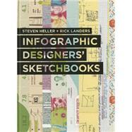 Infographics Designers' Sketchbooks by Heller, Steven; Landers, Rick, 9781616892869