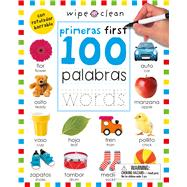 Wipe Clean: First 100 Words Bilingual by Priddy, Roger, 9780312522872