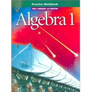 Algebra 1 2001 by Unknown, 9780030542886