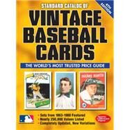 Standard Catalog of Vintage Baseball Cards by Sports Collectors Digest, 9781440242892