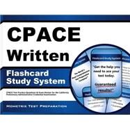CPACE Written Flashcard Study System by Mometrix Media LLC, 9781630942892