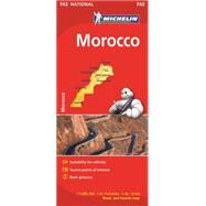 Michelin Map Africa Morocco 742 by Michelin Travel & Lifestyle, 9782067202894