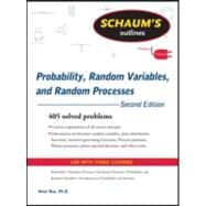 Schaum's Outline of Probability, Random Variables, and Random Processes, Second Edition by Hsu, Hwei, 9780071632898
