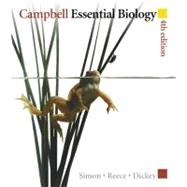 Campbell Essential Biology by Simon, Eric J.; Reece, Jane B.; Dickey, Jean L., 9780321652898