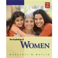The Psychology Of Women by Matlin, Margaret W., 9780840032898