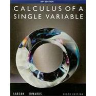 Calculus Single Var Ap Ed 9E by Larson,Ron, 9780547212906