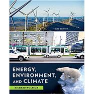 ENERGY, ENVIRONMENT & CLIMATE by Wolfson, Richard, 9780393622911