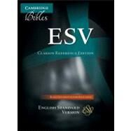 ESV Clarion Reference Edition ES486:XE Black Goatskin Leather by Bible, 9780521182911