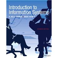 INTRO TO INFORMATION SYSTEMS (LOOSE-LEAF) by Unknown, 9781119362913