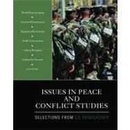 Issues in Peace and Conflict Studies : Selections from CQ Researcher by CQ Researcher, 9781412992916