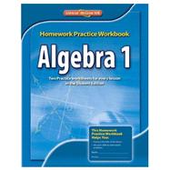 Algebra 1 Homework Practice Workbook, CCSS by Unknown, 9780076602919