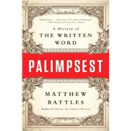 Palimpsest by Battles, Matthew, 9780393352924