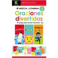Kindergarten Mezcla y combina: Oraciones divertidas by Scholastic; Scholastic, 9781338262933