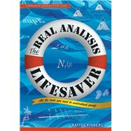 The Real Analysis Lifesaver by Grinberg, Raffi, 9780691172934