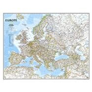 Europe Classic by National Geographic Maps, 9780792292937