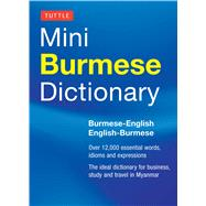 Tuttle Mini Burmese Dictionary by Cunningham, Nancy, 9780804842938