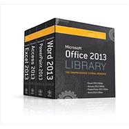 Office 2013 Library Excel 2013 Bible, Access 2013 Bible, PowerPoint 2013 Bible, Word 2013 Bible by Walkenbach, John; Alexander, Michael; Kusleika, Dick; Wempen, Faithe; Bucki, Lisa A., 9781118522943