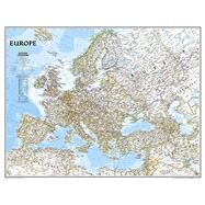 Europe Classic by National Geographic Maps, 9780792292944