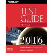 Airframe Test Guide 2016 Book and Tutorial Software Bundle The