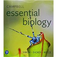 Campbell Essential Biology Plus Mastering Biology with Pearson eText -- Access Card Package by Simon, Eric J.; Dickey, Jean L.; Reece, Jane B., 9780134812946
