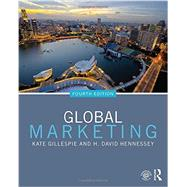 Global Marketing by Gillespie; Kate, 9780765642950