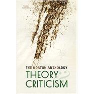 The Norton Anthology of Theory and Criticism by Leitch, Vincent B.; Cain, William E.; Finke, Laurie A.; McGowan, John; Sharpley-Whiting, T. Denean, 9780393602951