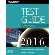Powerplant Test Guide 2016 Book and Tutorial Software Bundle The